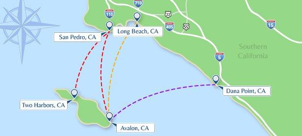 Fast Fleet To Catalina Island