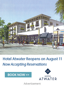 The newly renovated Hotel Atwater reopens August 11