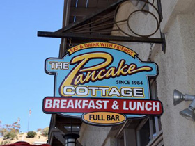 pancake cottage. serving up breakfast that would make mama proud