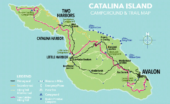 Best Camping in Southern California – Catalina Island : Catalina on