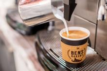 Ben's Bakery coffee
