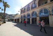 Shops along the Waterfront