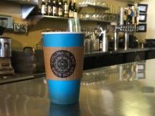 Coffee cup from Catalina Island Brew House